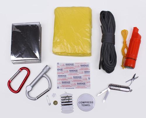 termo rothco con kit de supervivencia