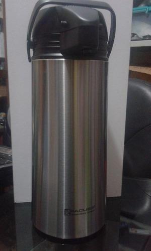 termo sifón facusa original de acero inoxidable de 1.9 lt