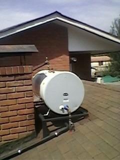 termo solar (kit termosifón ) agua caliente sanitaria