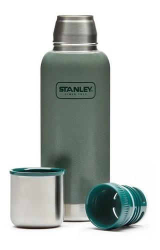 termo stanley 1 litro 1 lt acero inoxidable adventure pico cebador original  verde