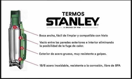 termo stanley 1 litro original c/manija