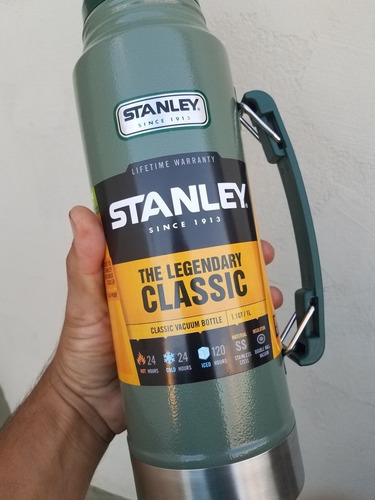 termo stanley 1 litro the legendary classic con tapon 24hrs