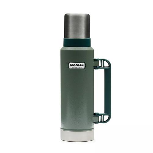 termo stanley 1.3l clasico tapon cebador original verde