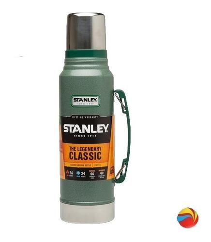 termo stanley 1.3lt acero inoxidable verde universo pinturerías