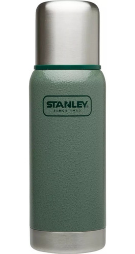 termo stanley 500ml adventure original verde tapon clasico