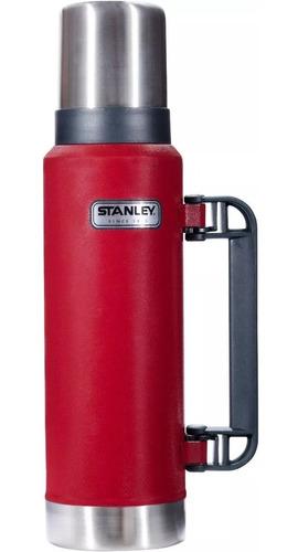 termo stanley acero 1,3lts clasico 28hs original garantia