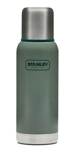 termo stanley adventure 1 l con tapón cebador verde