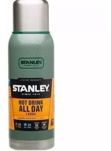 termo stanley adventure 1 litro c/ tapon cebador (no envios)