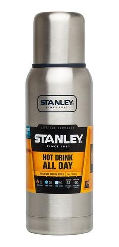termo stanley adventure 1 lt 24hs frió/calor acero inox.