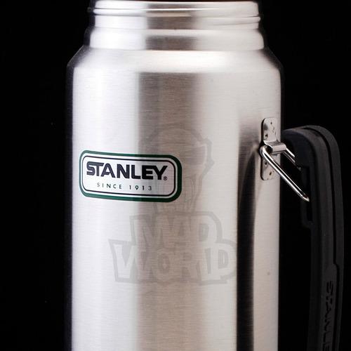 termo stanley clasico 1 litro acero  pico cebador. original