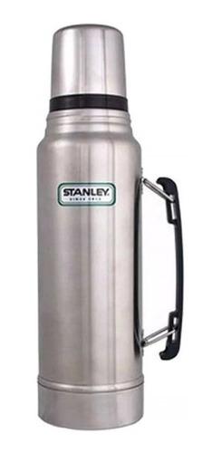 termo stanley clasico 1 litro tapon cebador acero inoxidable