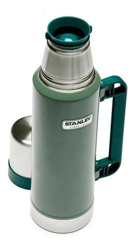 termo stanley clasico 1,3 litros  pico cebador garantía