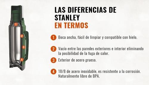 termo stanley clasico 1lt pico cebador original garantía