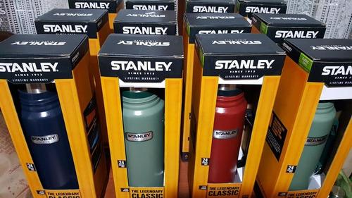 termo stanley classic 1 litro con tapon cebador en caja