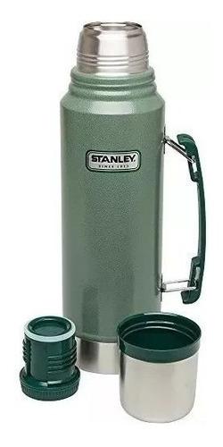 termo stanley classic 1 litro original verde importados