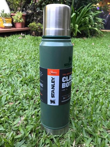 termo stanley classic 1.1qt 1 litro acero inoxidable