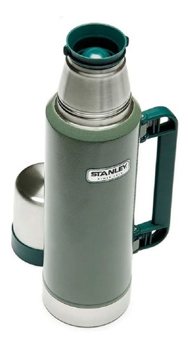 termo stanley classic 1,3 lt acero inoxidable camping mate