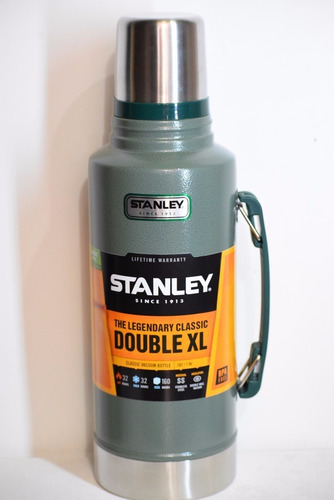 termo stanley classic 1.9l 2qt verde botella double xl