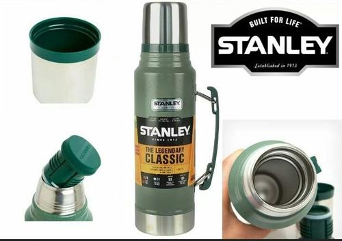 termo stanley original 1 litro acero inoxidable vertedor