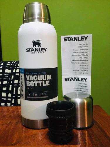 termo stanley vacuum bottle blanco 1lt edic limitada tap ceb