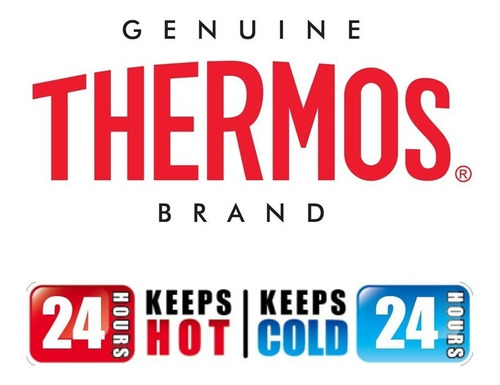 termo thermos 1 litro acero inoxidable 24 horas frio o calor