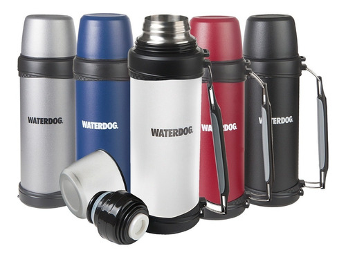 termo waterdog acero inox 1 litro  manija 21000cc cebador