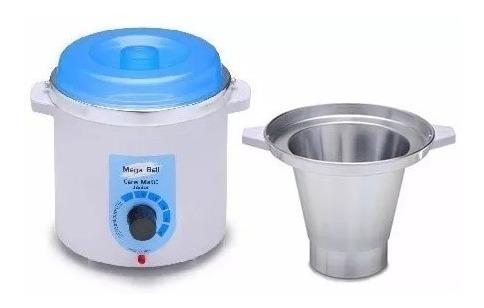 termocera 400g c/ refil - panela p/ depilação cera quente