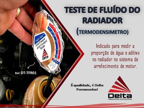termodensímetro teste de fluido do radiador