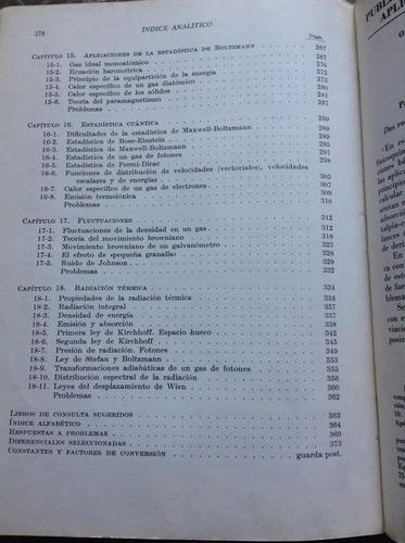 termodinamica - francis weston sears - reverte