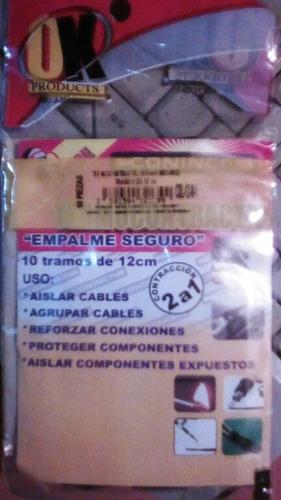 termoencogible 12.0 mm x 12 cm negro