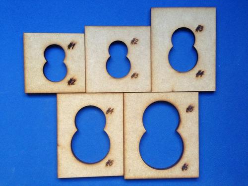 termoformadores para muñecos de foami (fofuchas)