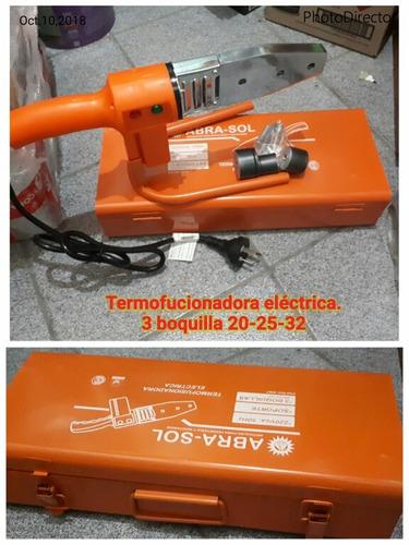 termofucionadora electrica 3 boquillas 20-25-32