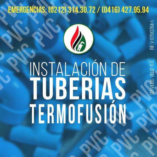 termofusion, servicio e instalacion termo fusion plomeria