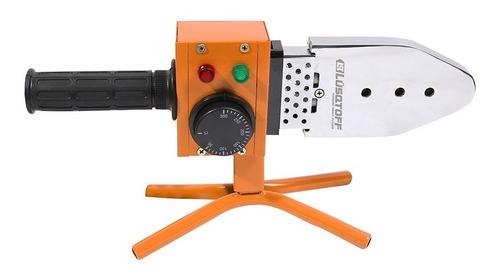 termofusionadora lusqtoff 800w + maletin + boquillas para sistemas aquasystem y sigas termofusora
