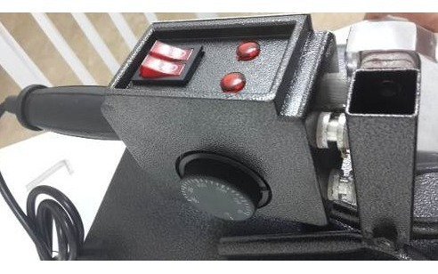 termofusora 1500w 6 boquillas fusion caños agua gas maletin