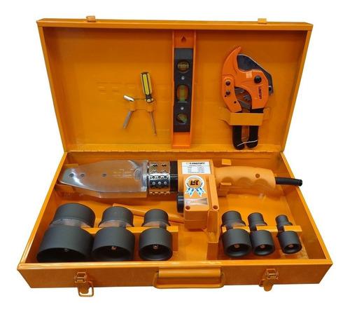 termofusora 1500w lusqtoff ltf-6315 6 boquillas maletin gtia