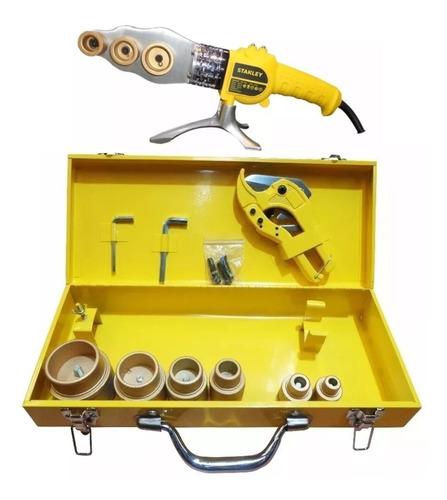 termofusora 1500w stanley 6 boquillas + tijera sxh153 - good tools