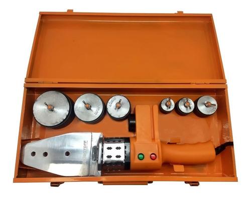 termofusora 800 watts 6 boquillas milimetricas maletin base
