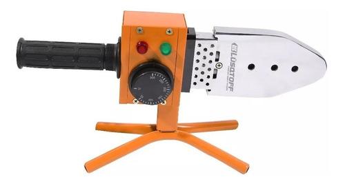 termofusora 800w lusqtoff + 6 boquillas + maletin ltf-6308r