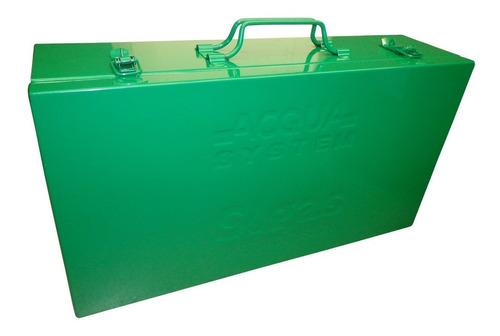 termofusora aquasystem 800w c/boquilla 20 a 32 mm + valija