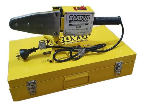 termofusora barovo 1500w maletin 6 boquillas 20 63mm prof