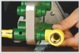 termofusora gassman 800 watts c/ boquillas de 20 - 25 y 32mm