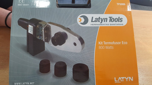 termofusora latyn 800w+boquillas 20 a 63 mm+envio gratis