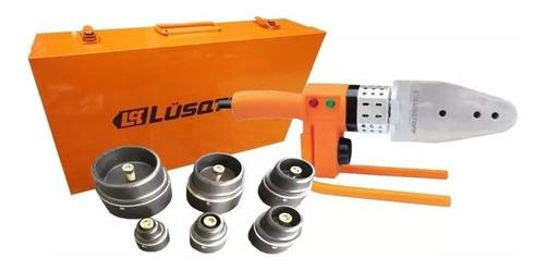 termofusora lusqtoff ltf-6308r 800w c/boquillas + maletin