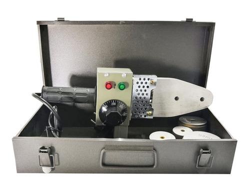 termofusora ppr 800w con accesorios y maletín