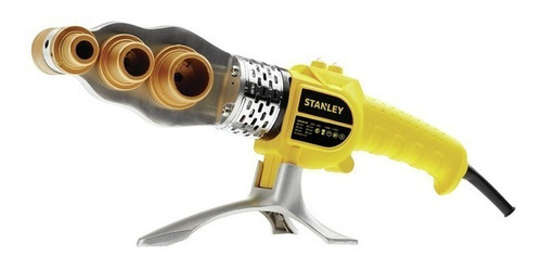 termofusora stanley 1500w 6 boquillas fusión caños agua gas