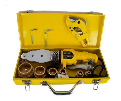 termofusora stanley 1500w 6 boquillas maletin tijera sxh1530