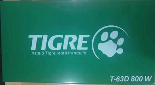termofusora t-63d  800w tigre con maletin y soporte