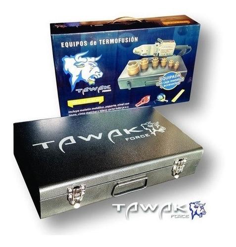 termofusora tawak 1500w 9 boquillas+tijera+maletin+metro+ni