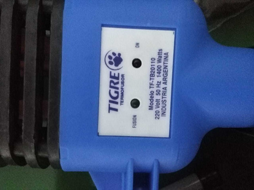termofusora tigre 1400w c/boq  20-25-32 + valija metalica